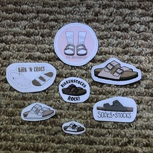 Birkenstock Homemade Redbubble Stickers